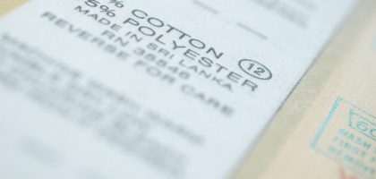 Cotton Polyester Fabric Label
