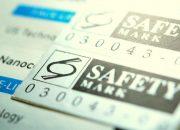 Silvermatt polyester label sticker